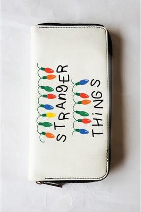 Köstebek Stranger Things - Ampül Logo Kadın Cüzdan