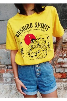Köstebek Art - Bushido Spirit Samurai Unisex T-shirt