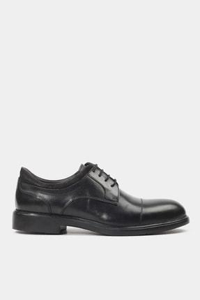 Hotiç Hakiki Deri Siyah Erkek Günlük Ayakkabı