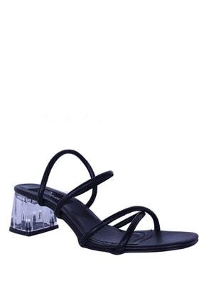Derigo 39204siyah Kadın Topuklu Ayakkabı