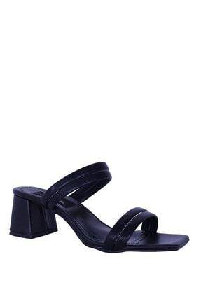 Derigo 39069siyah Kadın Topuklu Ayakkabı