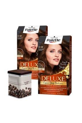 Palette Yoğun Renkler 6-68 Karamel Kahve X 2 Adet + Turk Kahvesi