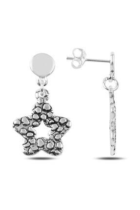 Silverella Gümüş Sallantılı Papatya Küpe