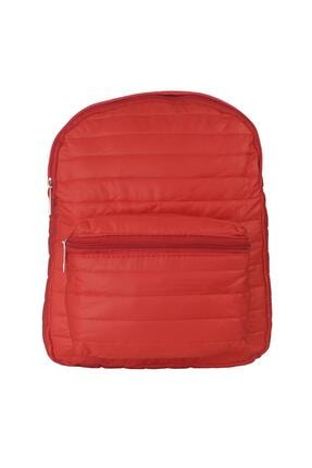 TREND Paraşüt Kumaş Kırmızı Mini Sırt Çantası