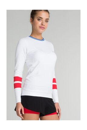 Jerf Kadın Sweatshirt - Lutsen Sweatshirt Beyaz - 589578