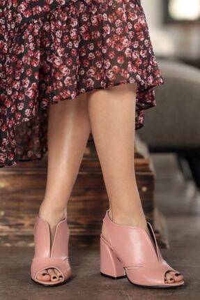 Mio Gusto Hazel Pudra Topuklu Ayakkabı
