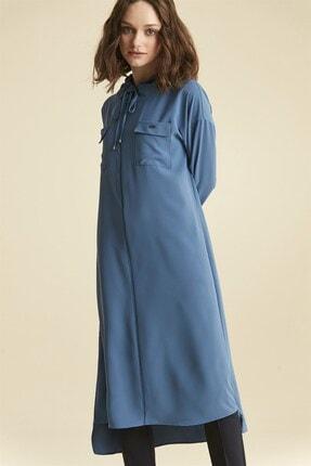 Nihan Kadın Tunik - Mavi 9A5044