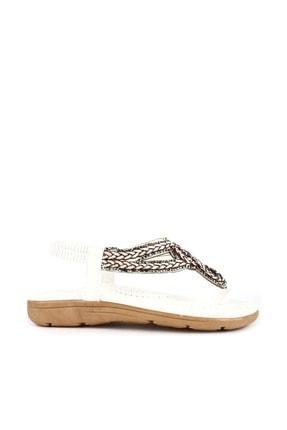 Guja Beyaz Kadın Sandalet 20Y200-8