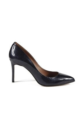 Sofia Baldi Faye Lacivert Rugan Kadın Stiletto & Abiye Ayakkabı