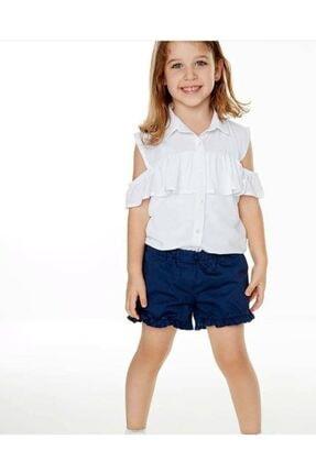 Wonder Kids Wonder Kids Kız Gömlek Şort Takım