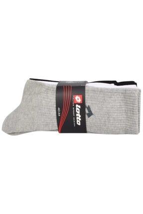 Lotto M8452 Moris Multipack 40-44 3'lü Spor Çorap