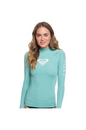Roxy Kadın Su Yeşili Whole Hearted Ls J Sfsh Ght0 Lycra T-shirt