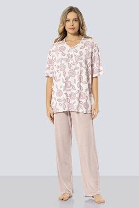 TÜREN Kadın Kısa Kollu Anne Pijama Takım