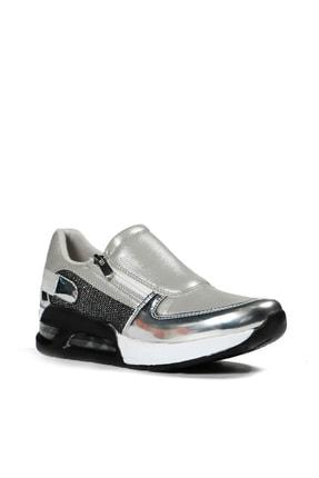 Hammer Jack Hakiki Deri Beyaz Kadın Sneaker Ayakkabı 381 1010-z-156