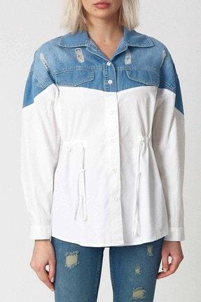 Robin Kadın Beyaz Gömlek