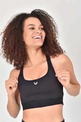 Bilcee Siyah Kadın Sporcu Sütyeni-bra Gs-8039