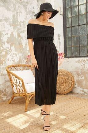 Mispacoz S872 Elbise Siyah