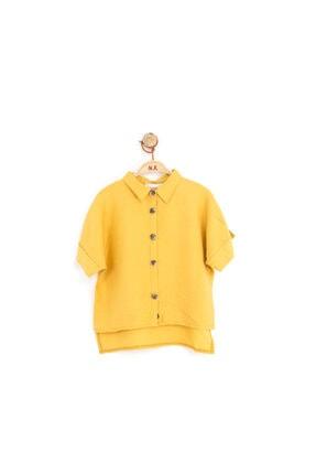 NK Kız Çocuk Sarı Gömlek