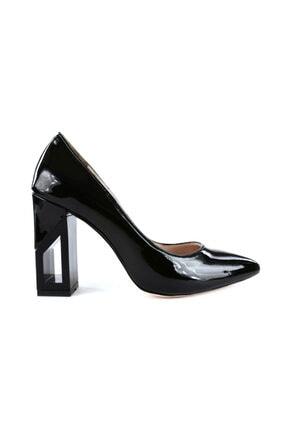 Mag 2107 Kadın Sivri Burun Parmak Dekolteli Çerçeve Topuklu Ayakkabı 20y 2107-1543