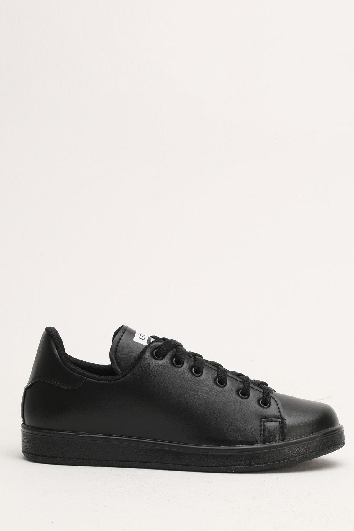 Ayakkabı Modası Siyah-Siyah Kadın Casual Ayakkabı BM-4000-19-110003