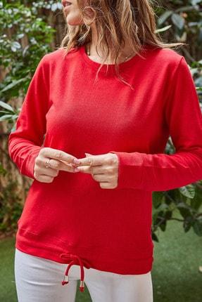 Xhan Beli Bağcıklı Sweatshirt 9YXK2-41639-04
