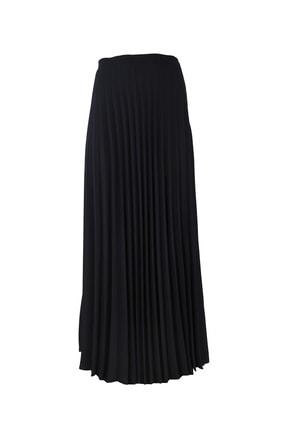 Moda İlgi Uzun Piliseli Etek Siyah