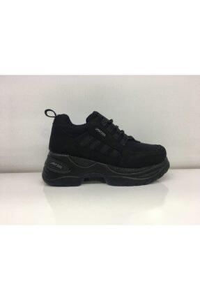 MP Mp 201-1277 Siyah Platform Spor Yürüyüş Ayakkabısı