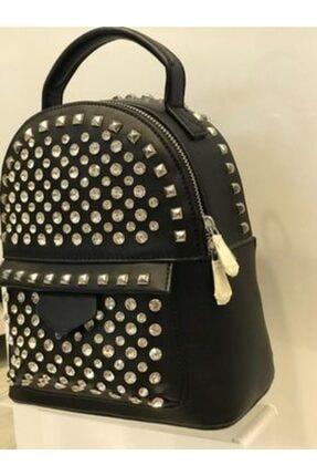 Kriste Bell Kadın Siyah Taşlı Çanta