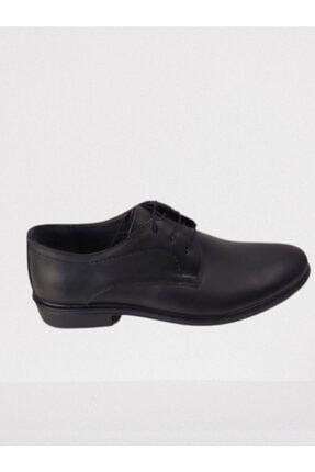 Erkek Siyah Kundura Ayakabı 489 erkek kundura ayakkabı