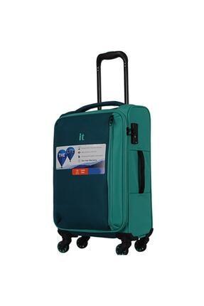 ITLUGGAGE Yeşil Unisex Kabin Boy Valiz 1247589004476