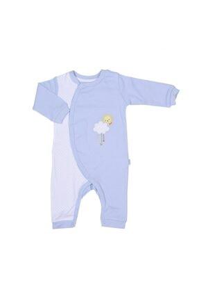 KitiKate Erkek Bebek Organik Tulum Mavi