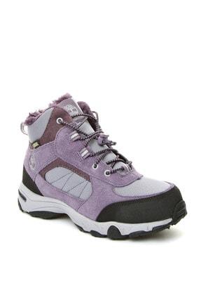 Timberland Unisex  Mor Deri  Ayakkabı