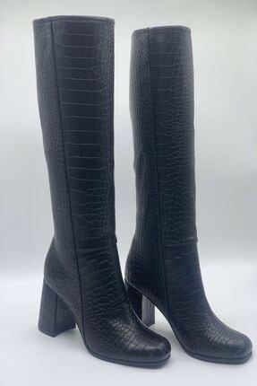 Kadın Topuklu Çizme Ayakkabı M-0098