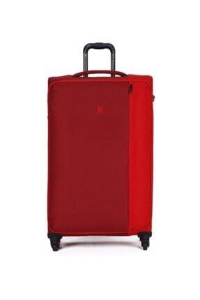 ITLUGGAGE Divison Lüks Kumaş Tango Kırmızı Büyük Boy Valiz 2284