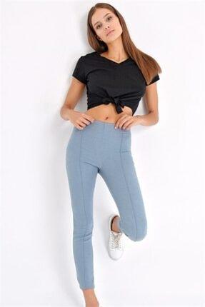 Jument Kadın Mavi Power Strech Pantolon