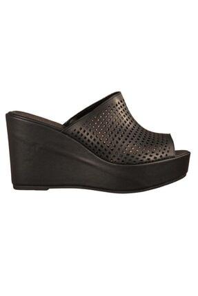 Siyah Topuklu Topuklu Ayakkabı T65427