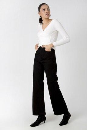 Zindi Kadın Siyah Vicky Palazzo Jeans