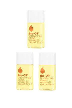 Bio Oil Vegan Kırışıklık Ve Çatlak Karşıtı Doğal Cilt Bakım Yağı 60 ml X3 Adet