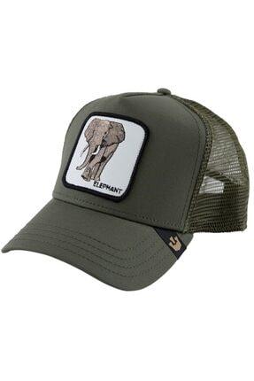 Goorin Bros Unisex Haki Elephant Şapka 101-0334