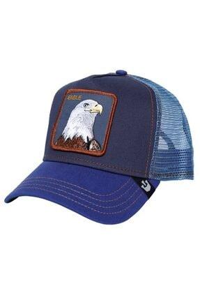 Goorin Bros Unisex Mavi Flying Eagle Şapka 101-0475