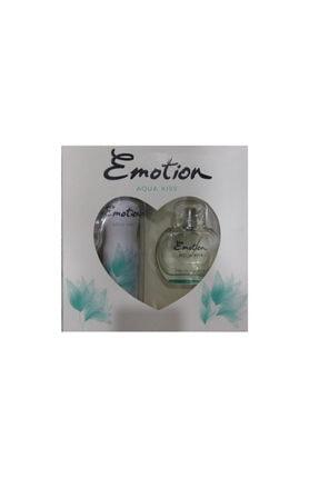 Emotion Aqua Kiss Edt 50 ml Kadın Parfüm + Deo Aqua Kıss Set NTA869741981