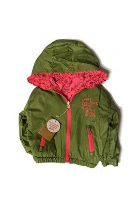 Midimod Kız Bebek Yeşil Yağmurluk M20309