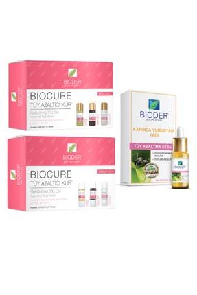 Bioder Bio Epilation Tüy Azaltıcı Karınca Yumurtası Yağı 30 ml Vücut Serum 3x10ml Yüz Serum 3x5ml