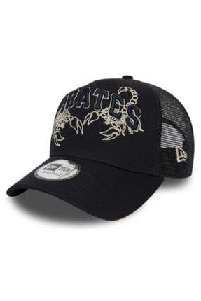 New Era Unisex Şapka-tech Fabrıc Lıcensed Trucker Pıtpır Nvy