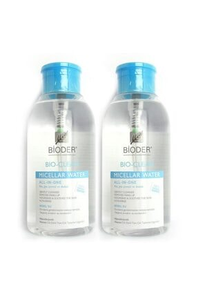 Bioder Makyaj Temizleme Suyu 500 ml X 2 Adet