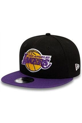 New Era Unisex Siyah Los Angeles Lakers Şapka 12122724