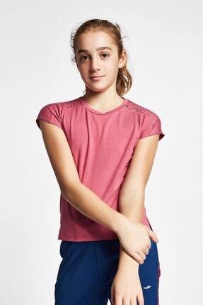 Lescon Unisex Çocuk Pembe Kısa Kollu T-Shirt 19b-3140