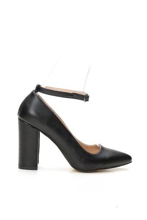 Ayakkabı Modası Kadın Siyah Topuklu Ayakkabı