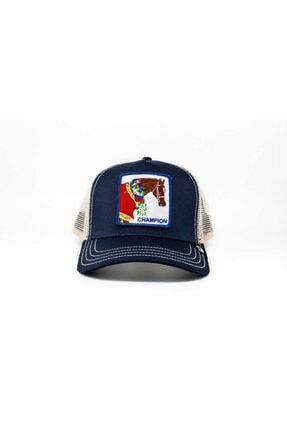 Goorin Bros Unisex Lacivert Champion Standart Şapka 101-0652