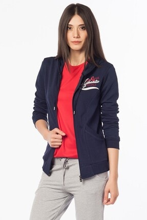 Kappa Kadın Lacivert Sweatshirt 13026p61